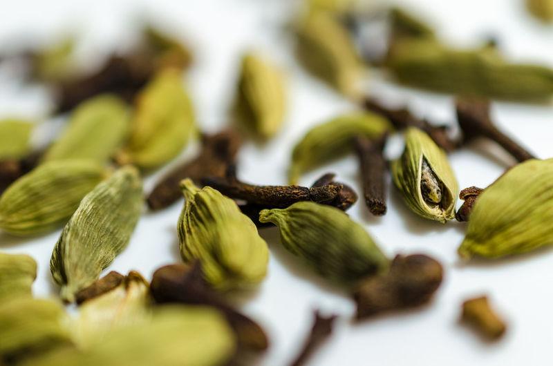 Detail shot of cardamom