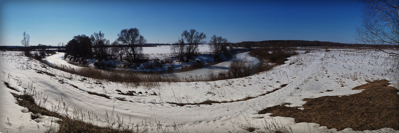 Eye Em Nature Lover Winter река Колокша