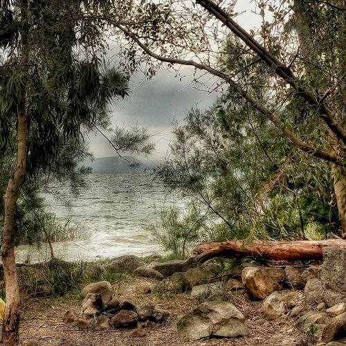 Israel Idf PhonePhotography Beautiful Meizumx4 Sjmike Water Sky Clouds Lake