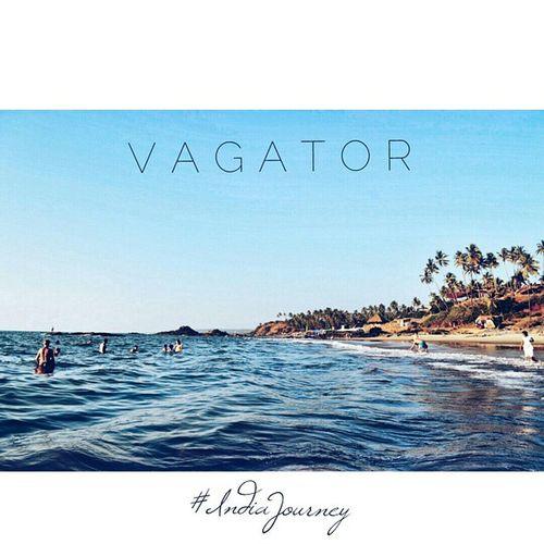 IndiaJourney Vagator Goa Beach Vacation Indiapictures Indiaphotos IncredibleGoa Incredibleindia India