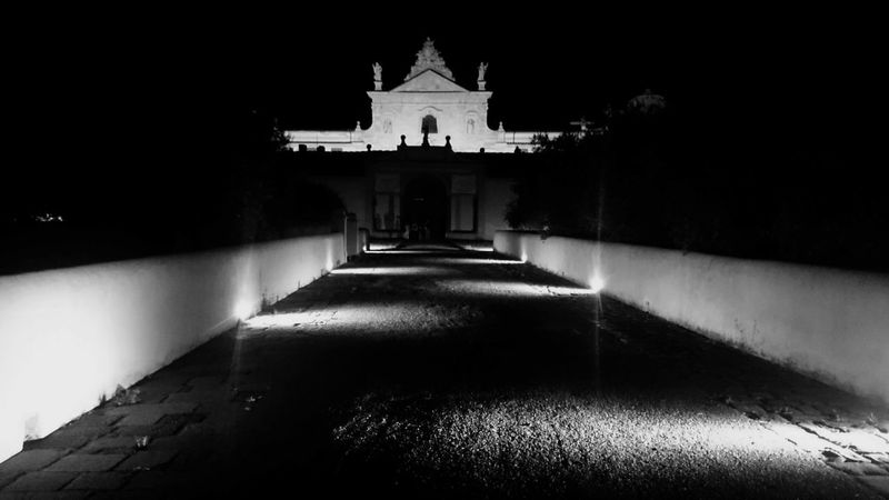 Blackandwhite Night At The Museum Toscana From My Point Of View Peace And Quiet