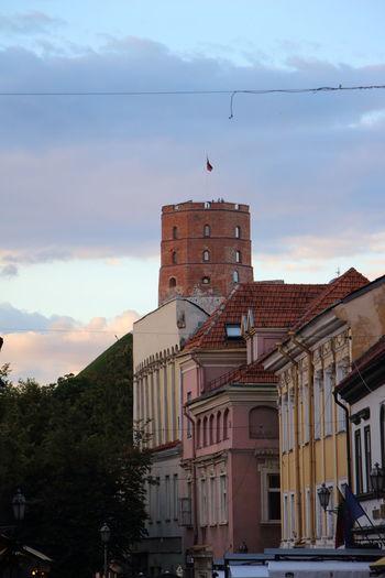 Vilnius Old Town Vilnius Gediminas Tower My Point Of View
