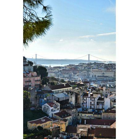 Nov 2015 Lisboa Lisbonlovers Lisbonne Portugal Cityview Miradourodagraça Travels Voyages Citytrip
