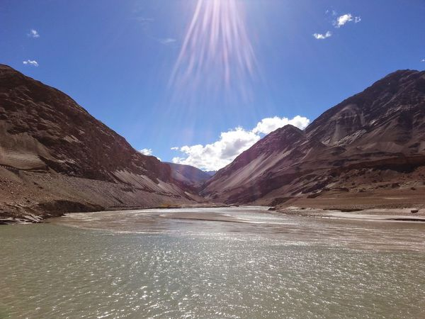 Confluence of Zaskar and Indus River The Great Outdoors - 2016 EyeEm Awards