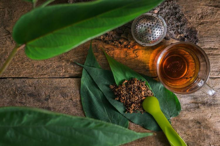 Close-up of tea