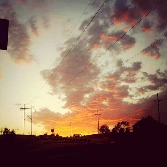Amarillo skies