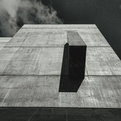 Brutalism Concrete Shadows Blackandwhite Facades Lookingup Exterior San Francisco