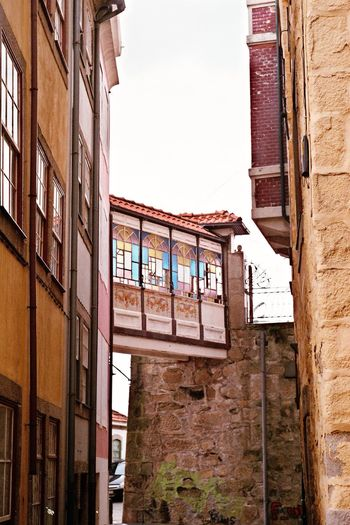 Porto❤️ Architecture Window Built Structure Building Exterior No People Day Low Angle View Multi Colored Residential Building Outdoors Sky