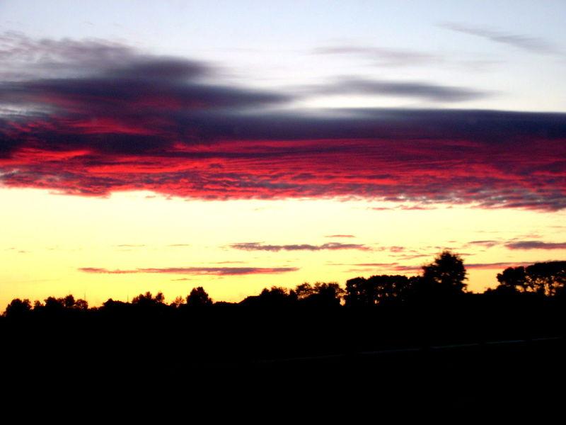 Закат небонастоящее небонадомной небо Архангельск Nature Природа России север Summer Beauty Real People Sky