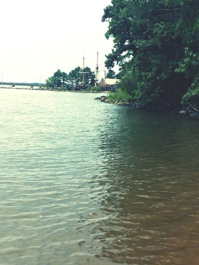 Jamestown Va James River Peaceful View Beauty In Nature