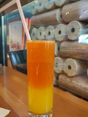 EyeEm Selects Drink Drinking Straw Drinking Glass Refreshment Food And Drink No People Indoors  Table Cold Temperature Freshness Close-up Day Color Palette Color Explosion Color Game