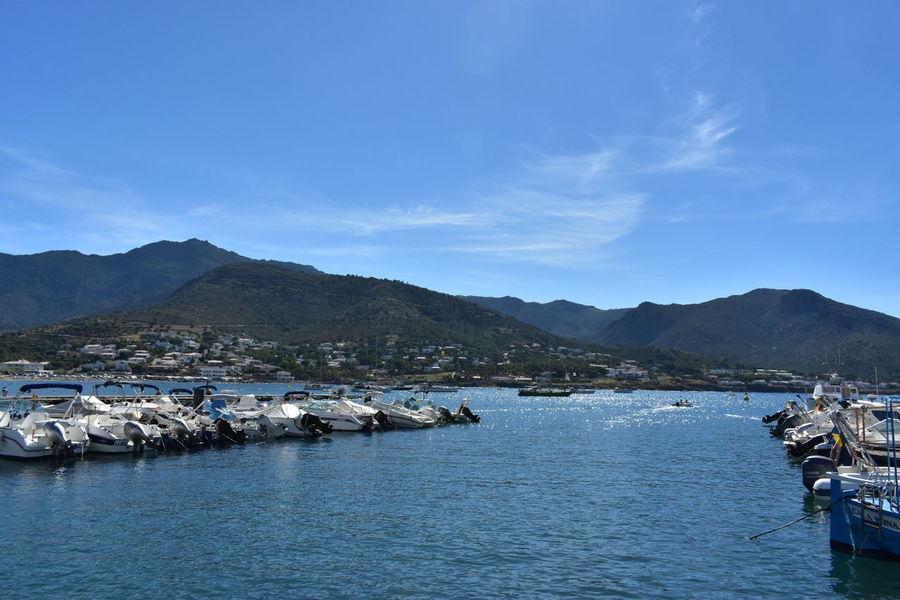 Port De La Selva Gironamenamora mountain and beach