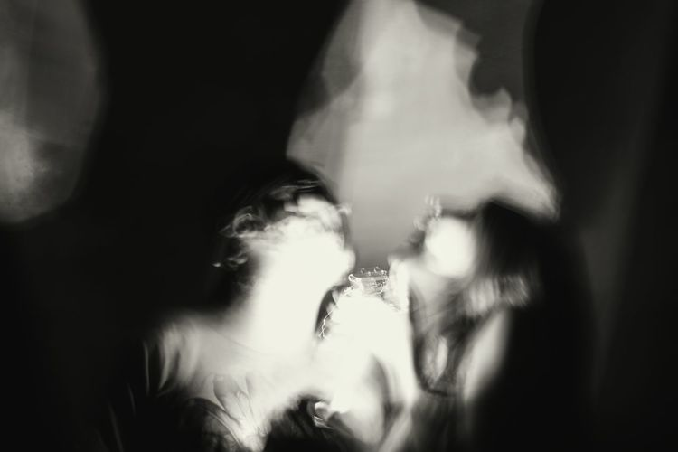 Long exposure Long Exposure Black & White Portrait Night Photography