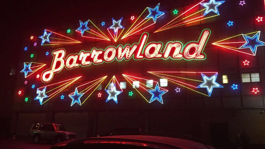 GLASGOW CITY Barrowland Ballroom Barrowlands Lights Show Time Gig