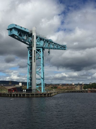 Glasgow shipyard, remains of the crane. Shipyard The Purist (no Edit, No Filter) Riverside River Clyde