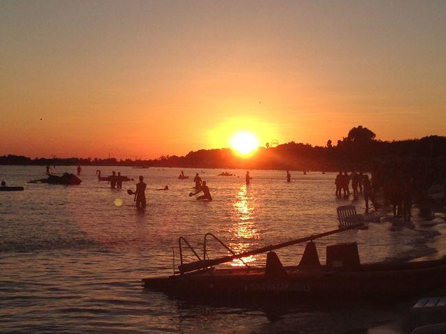 Lecce Mare Red Tramonto Beach Cielo Rosso Sea Sole Spiaggia Sun Sunset Torrelapillo
