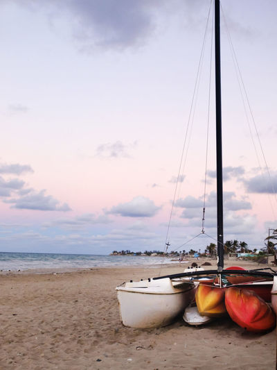 Beach Beach Sunset Beauty In Nature Cloud - Sky Day Horizon Over Water Nature Nautical Vessel No People Outdoors Sand Scenics Sea Sky Water