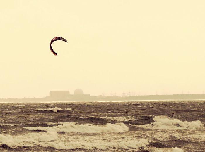 Sizewell Surf Suffolk, United Kingdom Kitesurfing Kite