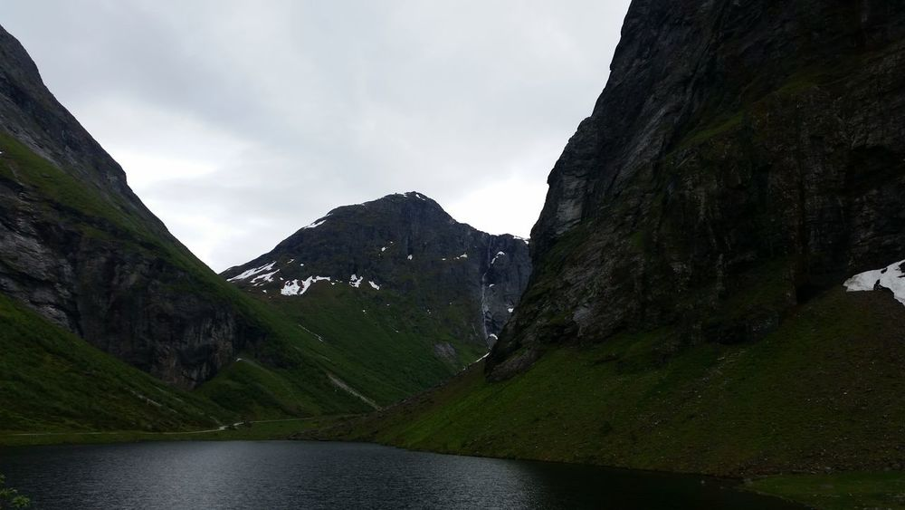 Beauty In Nature Day Mountain Mountain Range Mountain Valley Nature No People Norway Outdoors Scenery Scenics Sky Water