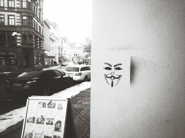 Fight for your FREEDOM!!! Anonymous Streetphotography Check This Out Blackandwhite