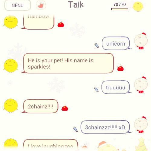 Me & SimSimi ;** Lol