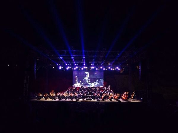 Darrell Ang and the LPO performing in Byblos on Thursday July 3rd 2014