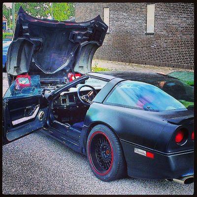 Vi titta på en Corvette C4 1984 års modell i dag, men den var inte i bra skick så det blev ingen affär. Corvette Sweden HTCOneX C4 malmö