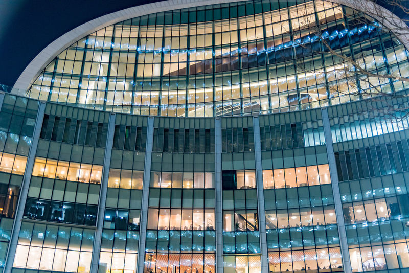 Architecture Backgrounds Brightly Lit Building Exterior Built Structure Business City City Life Downtown District Façade Futuristic Glass - Material Illuminated Indoors  Luminosity Modern Office Office Building Exterior Place Of Work Reflection Skyscraper Sparse Steel Vibrant Color Window