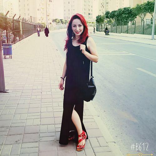 Beauty Selfportrait Collandsexy Kırmızı Sweety  Pretty Girl Redhair Blackandred💋💋