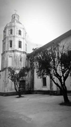 Religious Architecture Black & White Holyshrine Historical Landmark Church