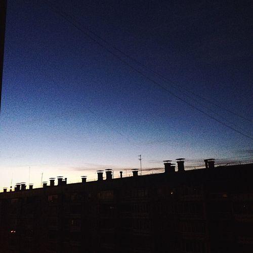 Немного рассвет😺😍 почти утро рассвет завораживает