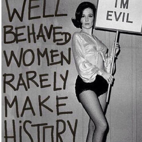 Strange fact. Funnyfact Evil some women tho' :-)