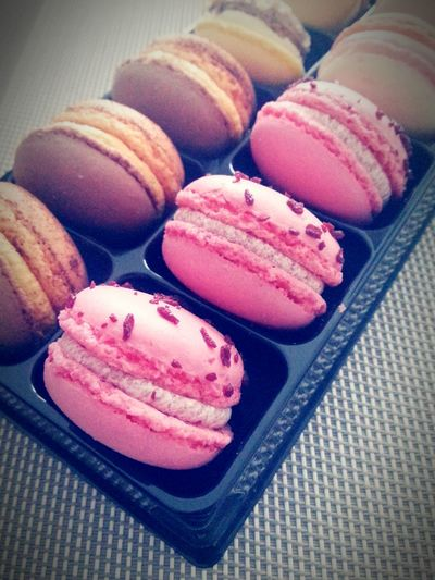 Cookies Macaron Pink Pink Color Pink Macarons Pink Cookies Kitchen Brown Cookies No People Relaxing