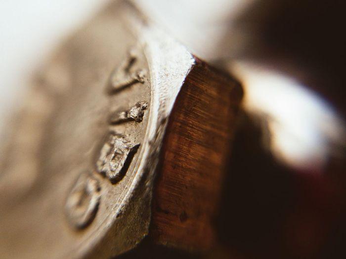 Metall close up