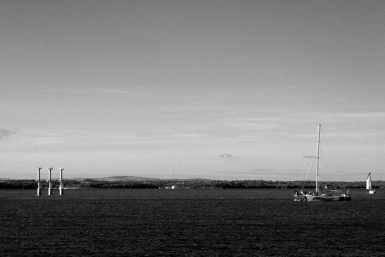 Not Sailing Black & White Not Sailing Beach Blackandwhite Day Isle Of Wight  Mast Nature Nautical Vessel Outdoors Sail Sailboat Scenics Sea Sky Solent Transportation Water