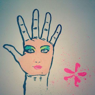 hallo Drawing Watercolours Art Girls