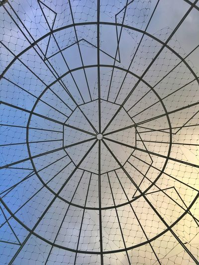 Backgrounds Full Frame Pattern Indoors  No People Low Angle View Day Sky Architecture Close-up