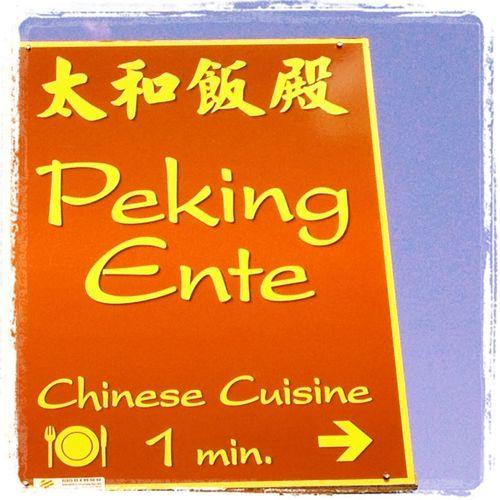 Dinner Berlin Chinese Food Peking Ente