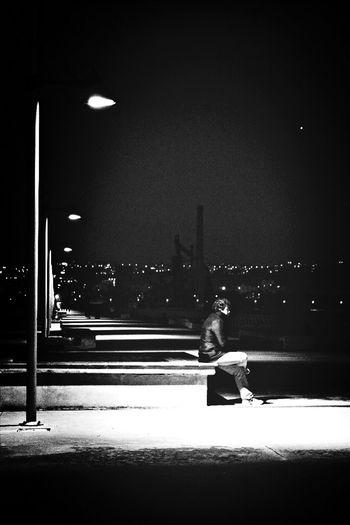 Pontile di Bagnoli - Napoli First Eyeem Photo Napoli Black & White Street Photography