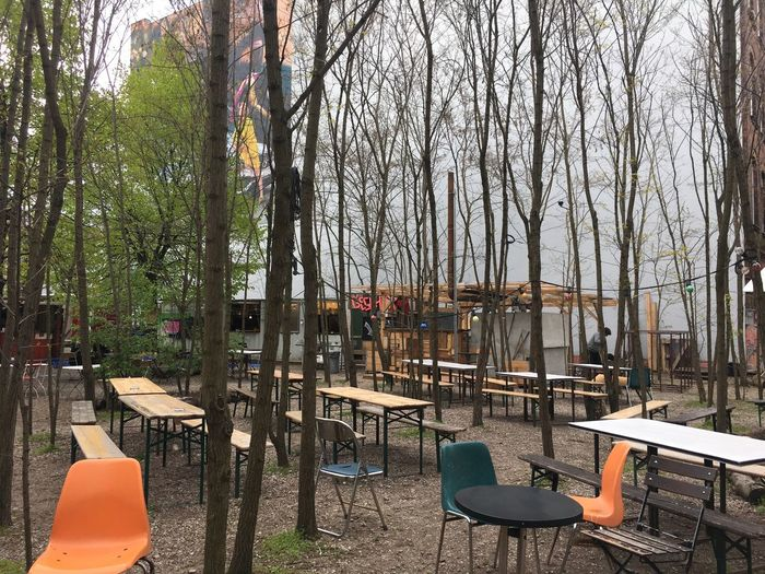 Outdoor Cafe No People