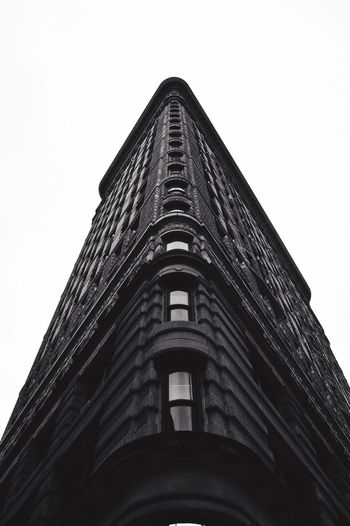 -The Flat Iron Building- Building Exterior Low Angle View Architecture Flat Iron Building NYC NYC Skyline Nyc Skyscraper Cityscape EyeEm Best Shots EyeEm Best Edits