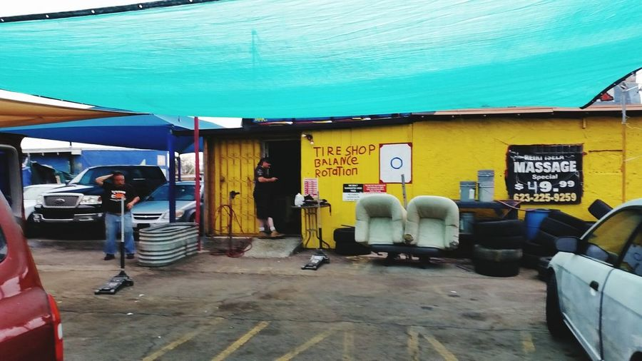 Tire shop From
