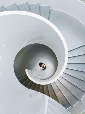 Indoors  Architecture High Angle View Steps Circle Geometric Shape Curve ThatsMe Thats Me  Creative Light And Shadow My Favorite Place People And Places
