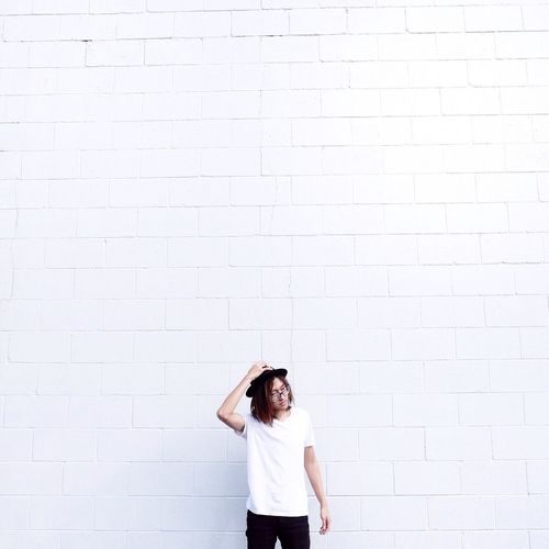 Say my name! Streetphotography Portrait Selfportrait Self Portrait Selfie ✌ White Obsession Taking Photos EyeEm Best Shots VSCO White Minimalism Minimal Minimalobsession Minimalist ThatsMe Love Without Boundaries Vscocam IPhoneography Followme Follow Like Likeforlike