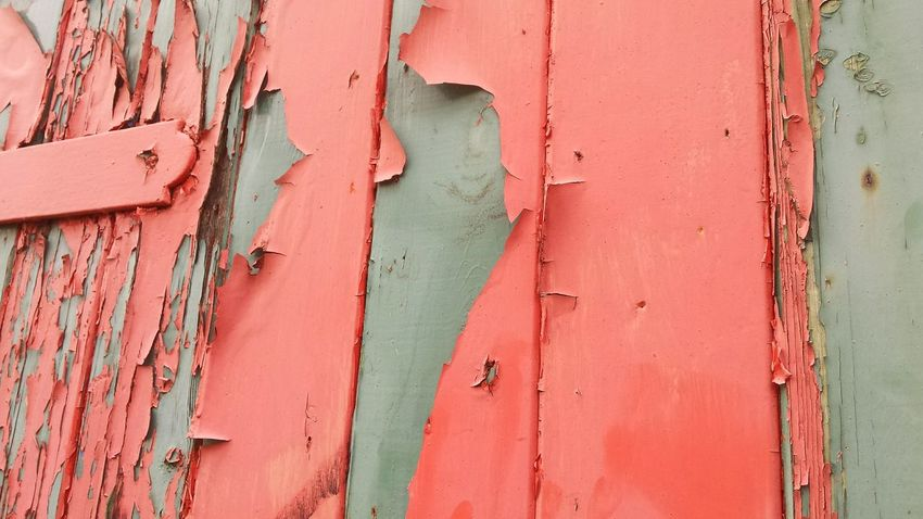 Picturing Individuality Showcase: November Architectural Detail Texture Peeling Paint Cracked Street Photography Abstract Detail Wood Panelling Colourful Background Textures And Surfaces Paint Pink Urban Landscape Abandoned Buildings Urban Decay Rotting Wood Cracked Paint Peeling Building Door Eye4photography