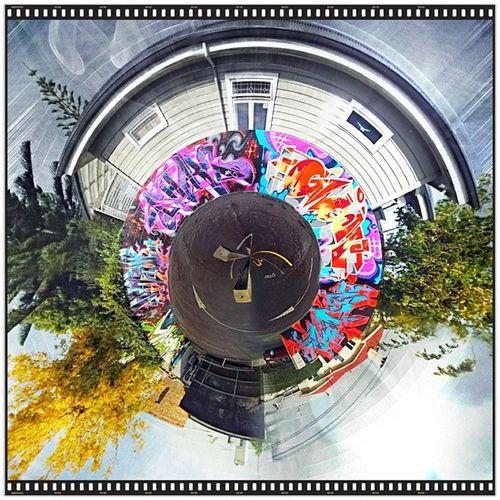 Auckland Ponsonby Nzherald Tinyplanet abettercamera handyphoto panorama