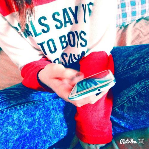 Music Is My Life (null) Samsung Sweet Pulover Cute Blue Jeans Brown Hair That's Me viovio👼🏼