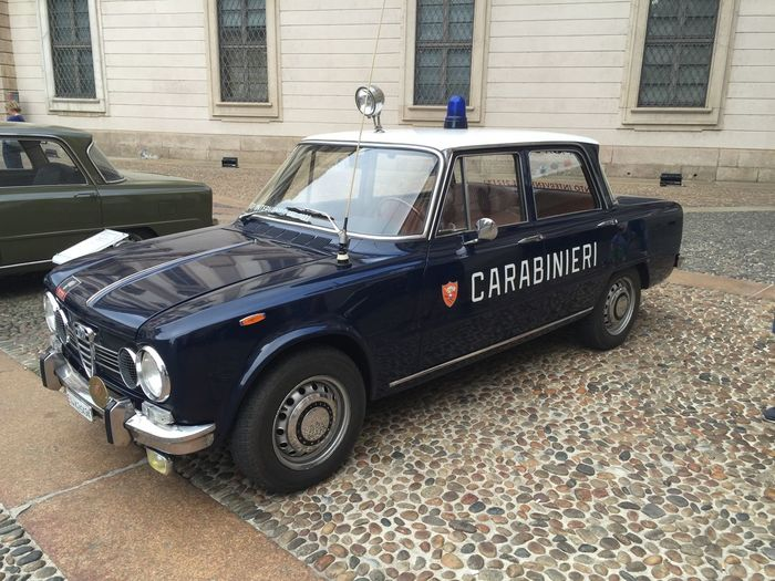 Car Carabinieri Day Outdoors