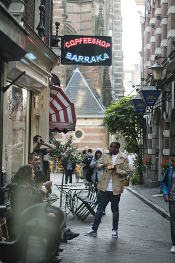 The City Light City Street Street Photography Day Light Outdoors Bar Coffeshop Amsterdam Colour Your Horizn
