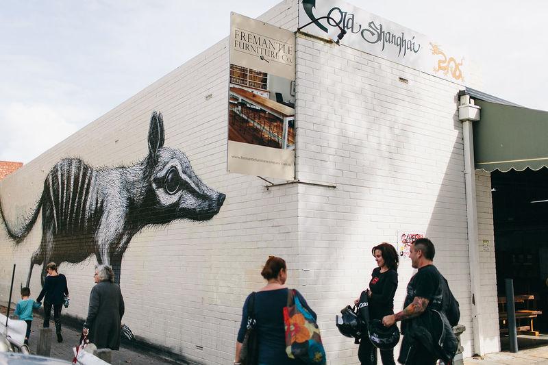 Grafitti at